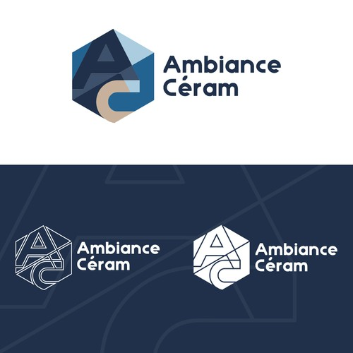 ceramic company logo design