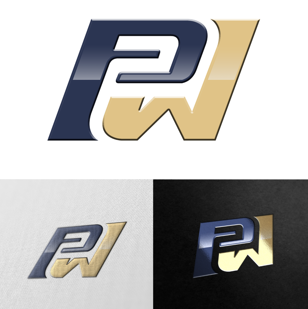Play 2 Win Athletics looking strong logo to represent Winning Attitude!!