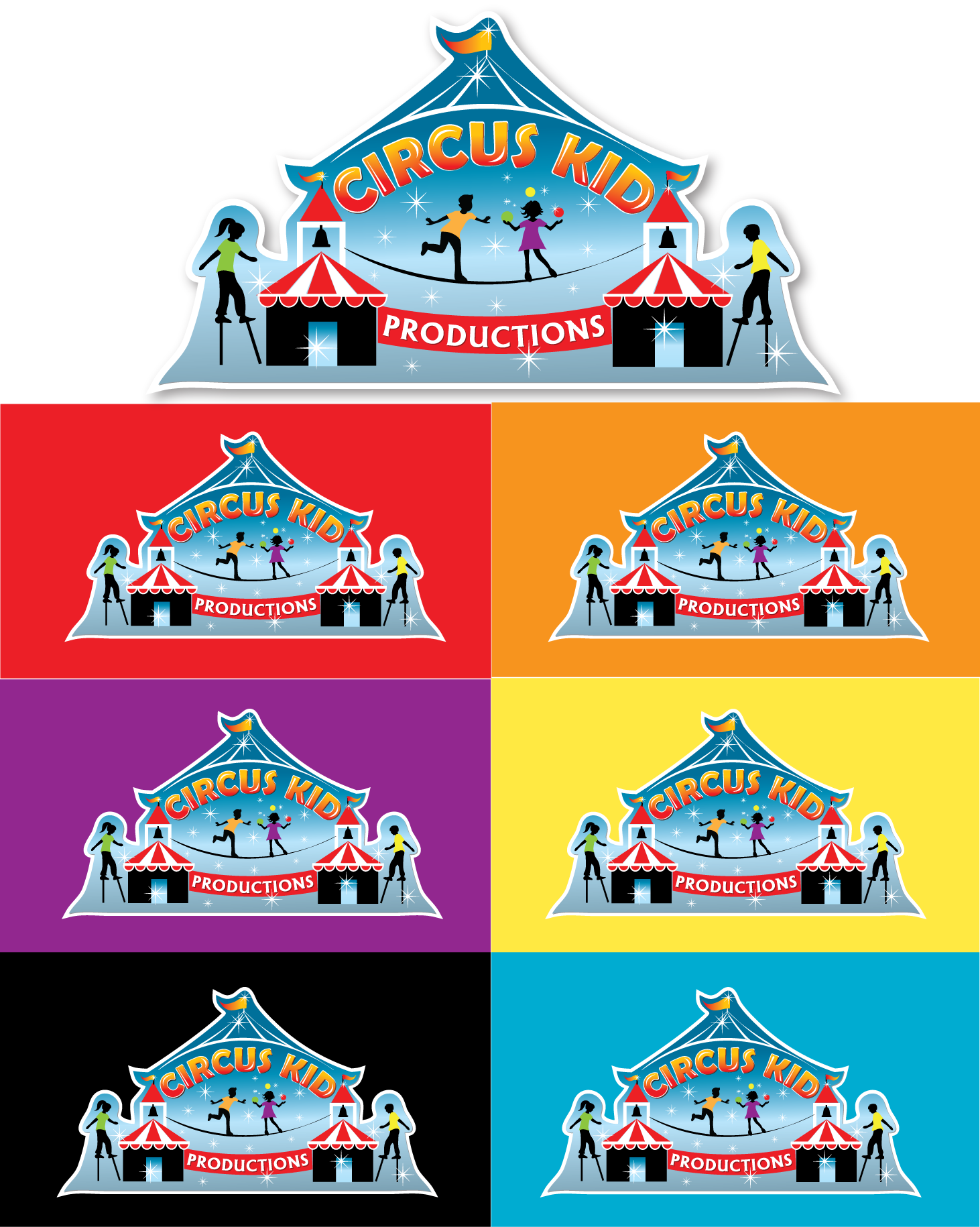 Create the next logo for Circus Kid Productions