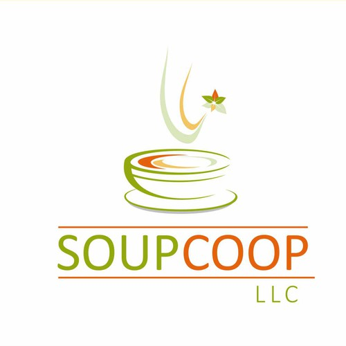 Logo for a restoran