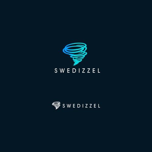 Swedizzel logo design