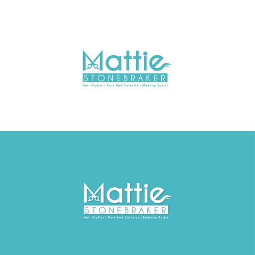 Bold logo made for Hair stylist