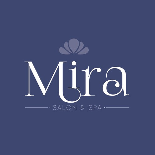 Mira Logo, Concept for Salon Spa