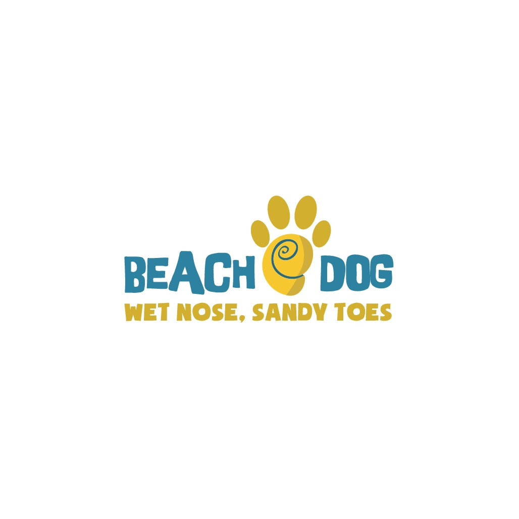 Wet nose, sandy toes.