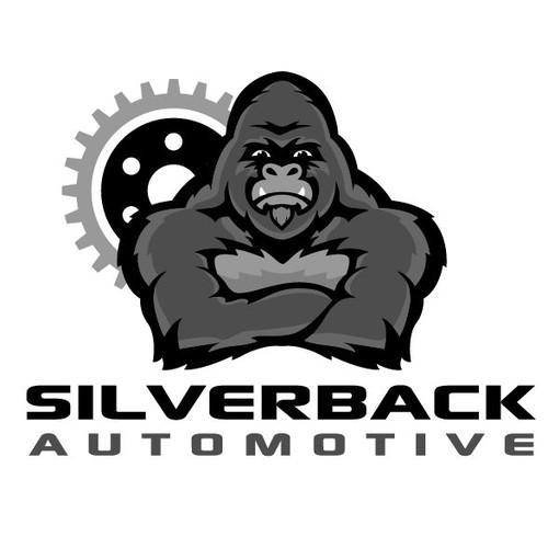 Gorilla Logo for Car Dealership
