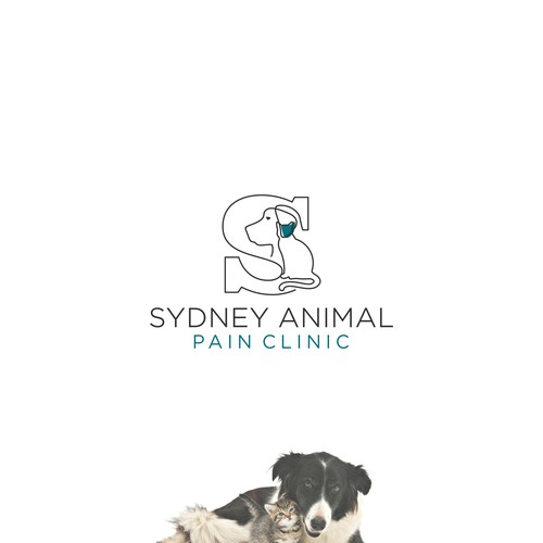 ANIMAL PAIN CLINIC logo concept
