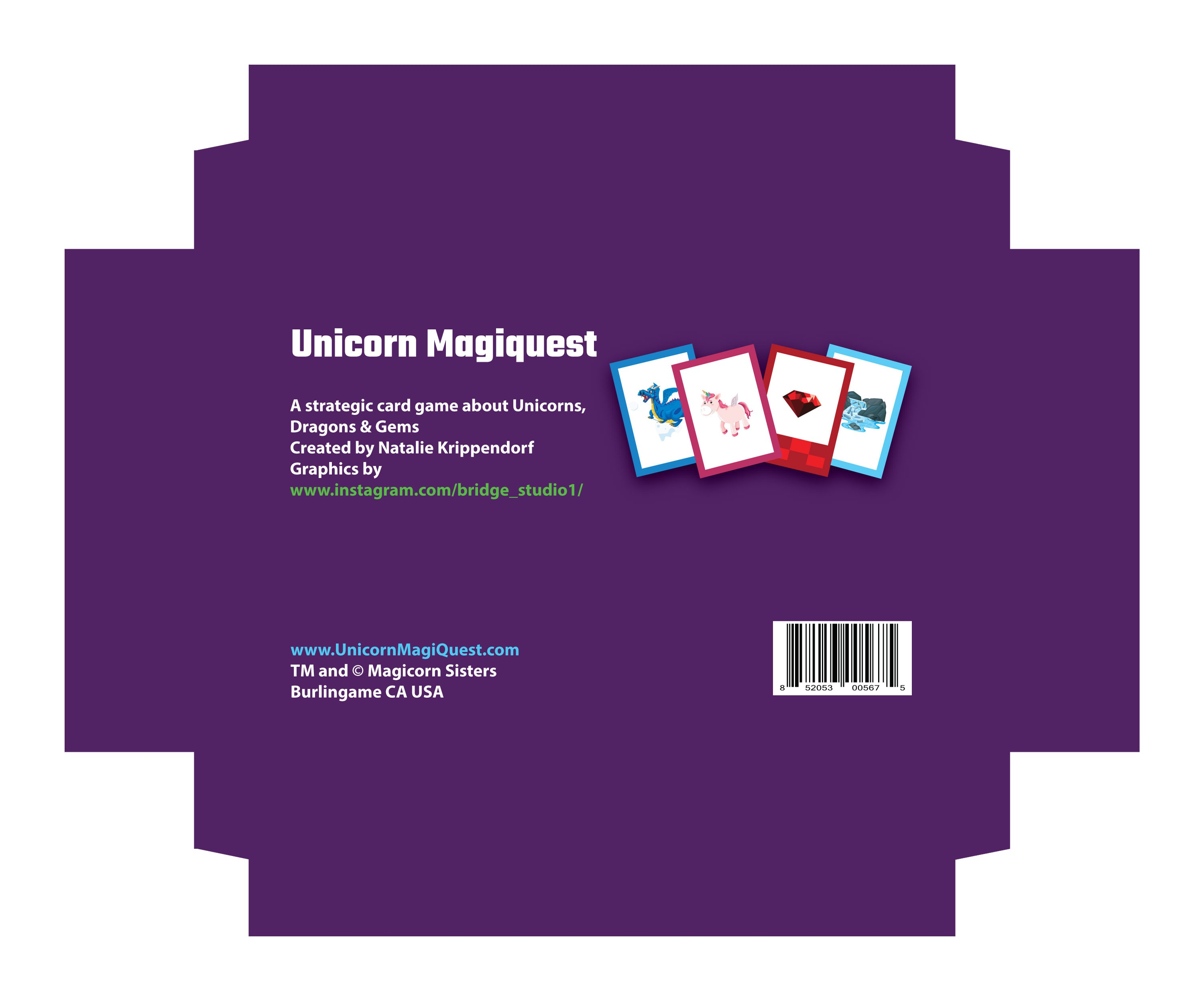 Unicorn Game cards BS