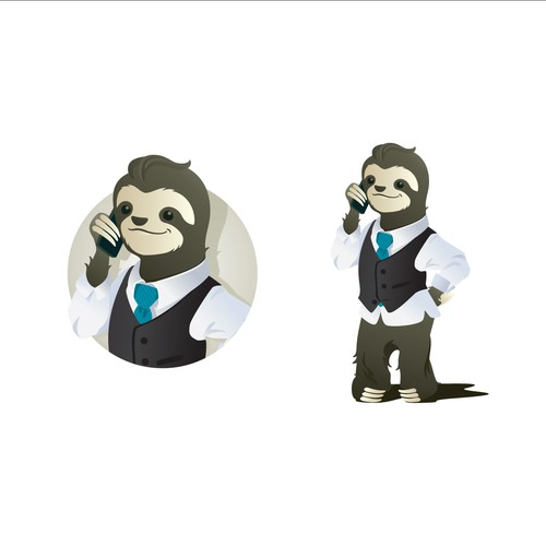 Mascot Logo For Real Estate Company