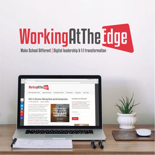 WorkingAtTheEdge - Logo Design