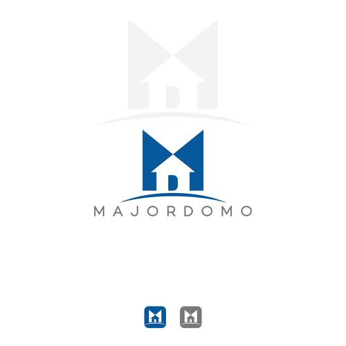 SIMPLE STRONG LOGO FOR MAJORDOMO