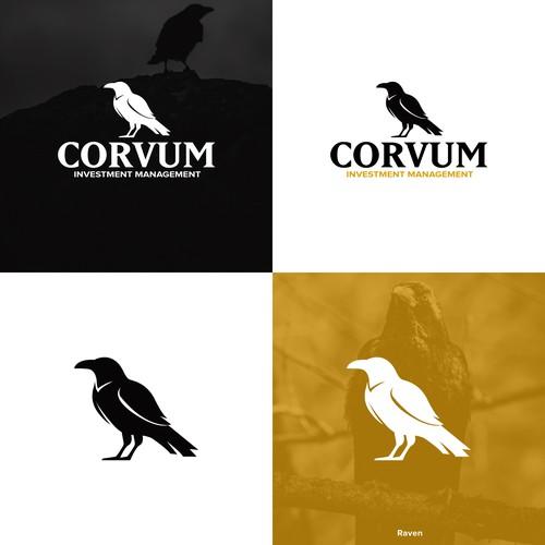 Raven Bird Logo