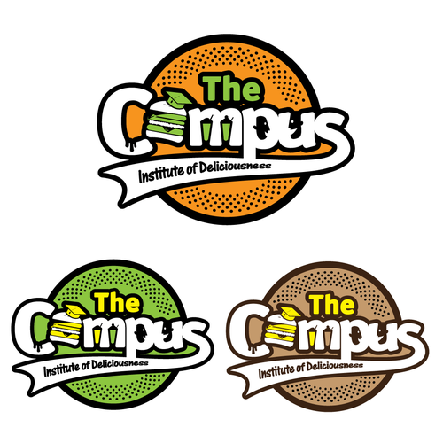 Fun logo for The Campus Restaurant