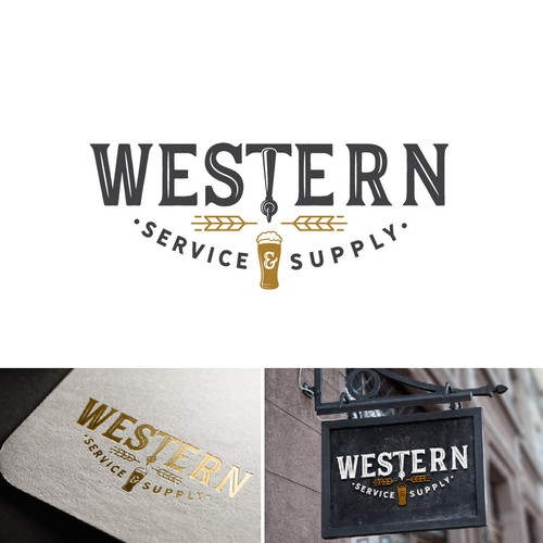 a logo for Draft Beer Service and Supply Company