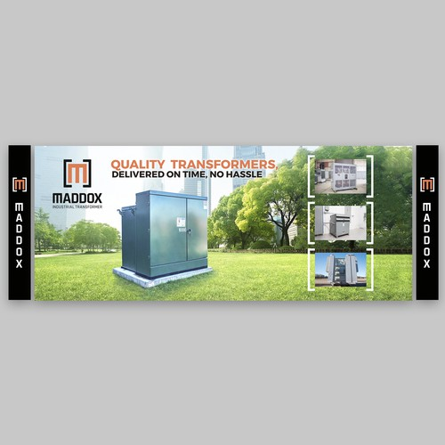 Help design eye-catching electrical industrial trade-show booth background