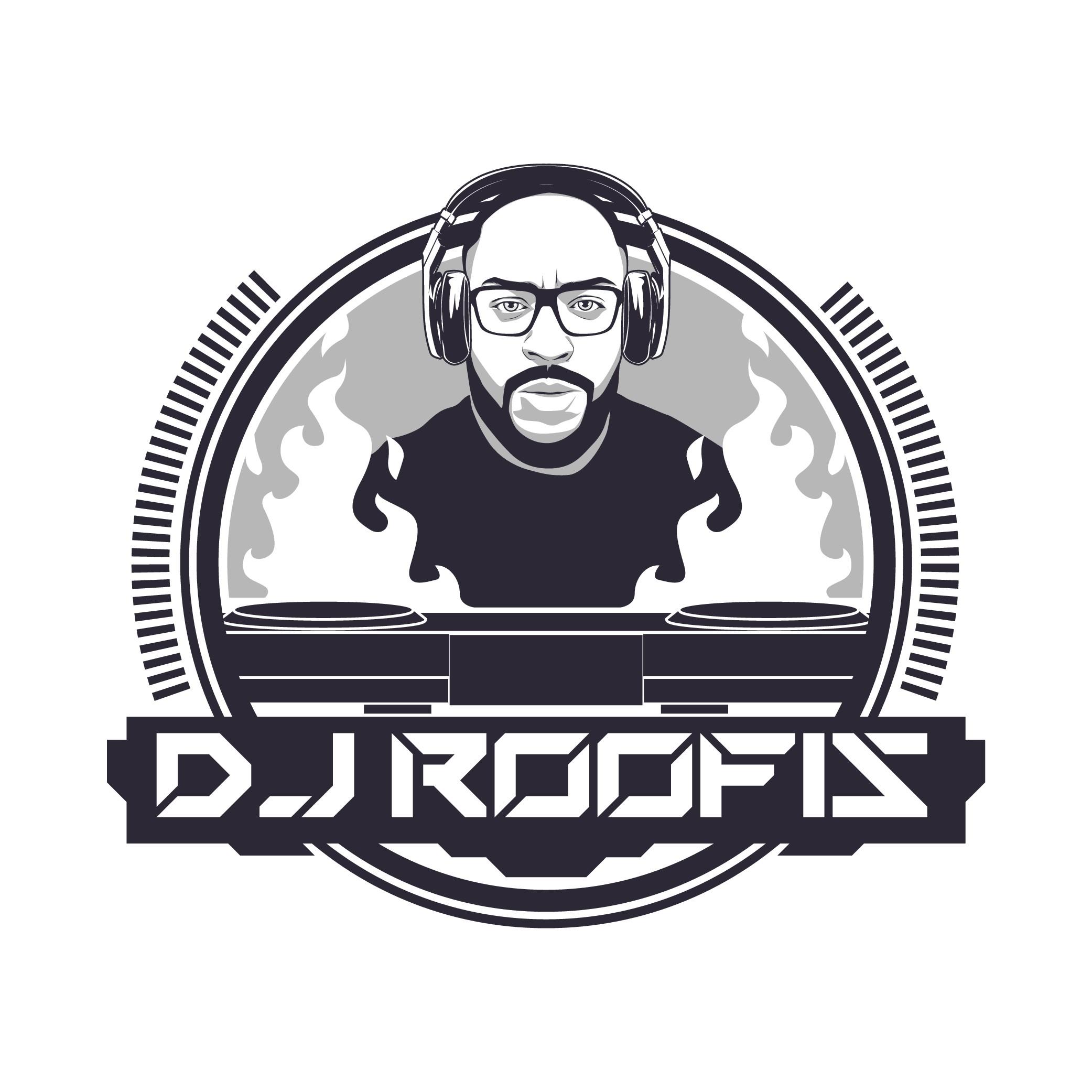 Cutting edge logo for nerdy but cool DJ