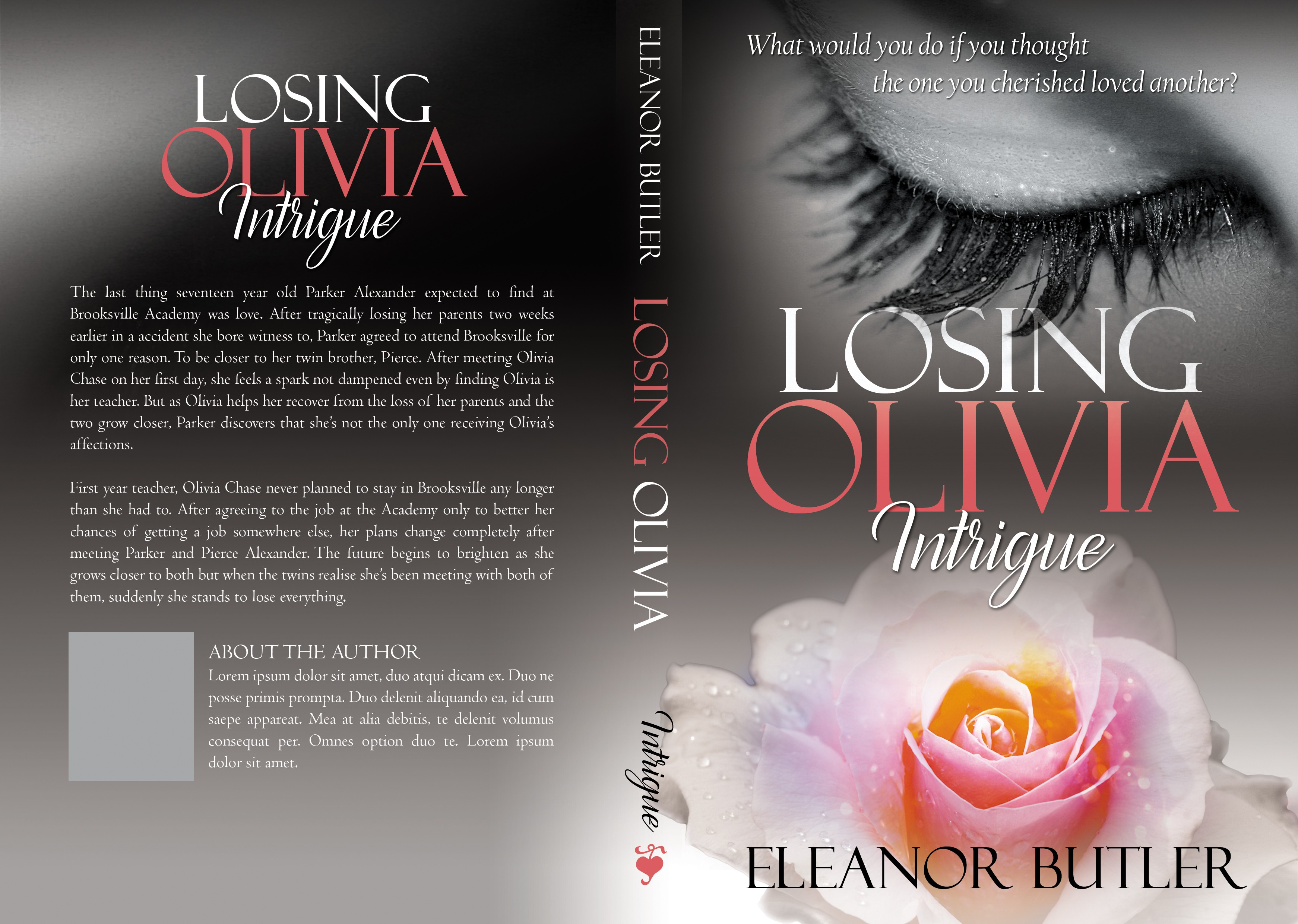 Create An Awesome Cover For Losing Olivia