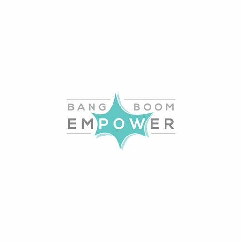 Logo concept for Bang Boom emPOWer
