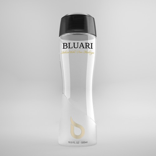 Bottle shape and graphic