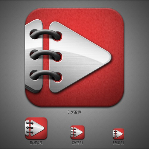 Now Then - iOS app icon (Angry Aztec Ltd)
