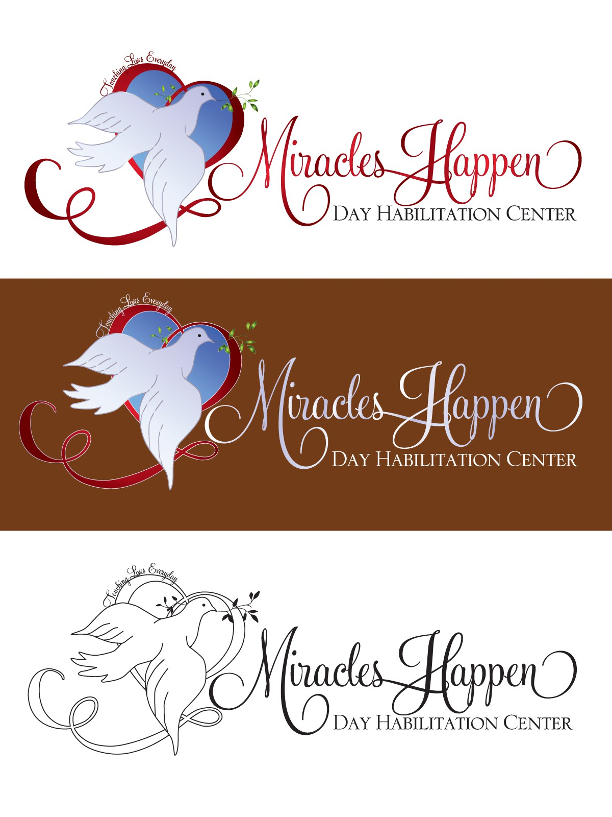 Miracles Happen Day Habilitation Center needs a new logo