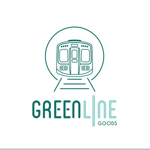 Clean, Modern, and Urban Aesthetic Logo Design for Greenline Goods - High End & Unique Gift Shop
