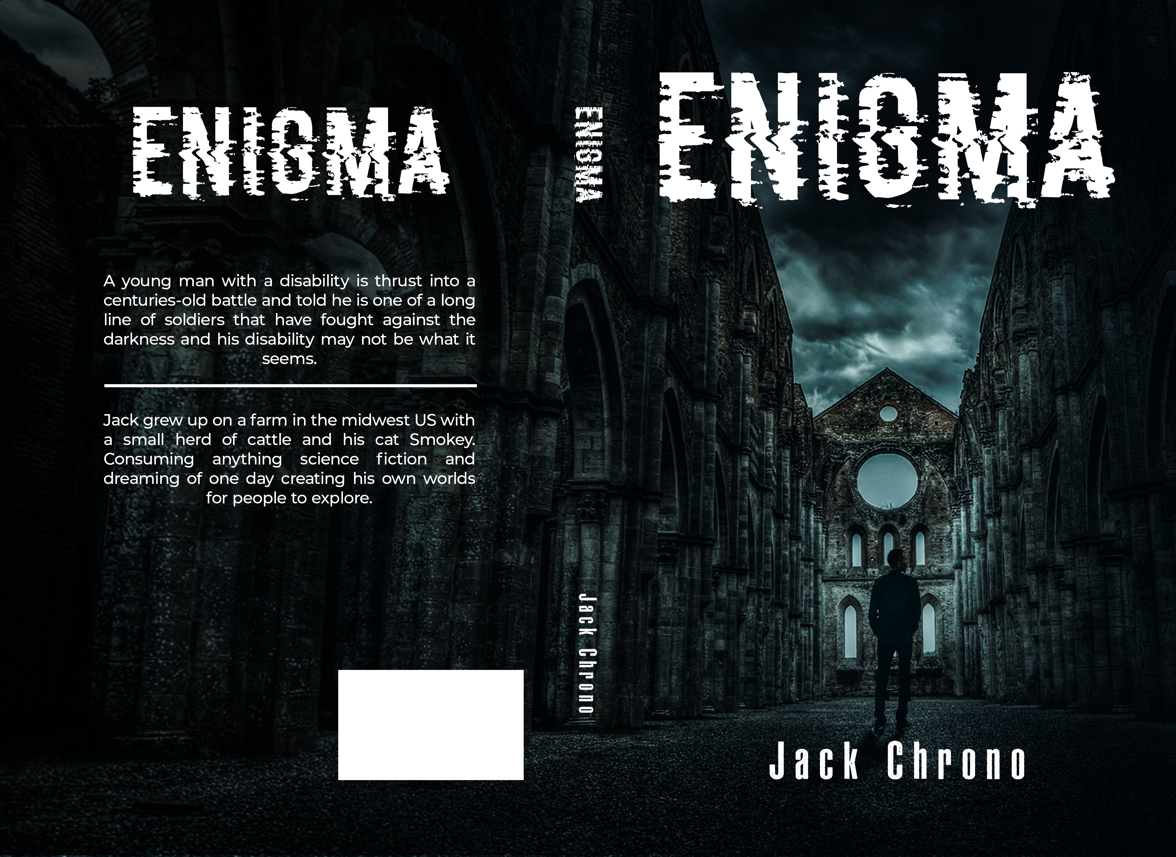 Book cover for young adult fantasy novel