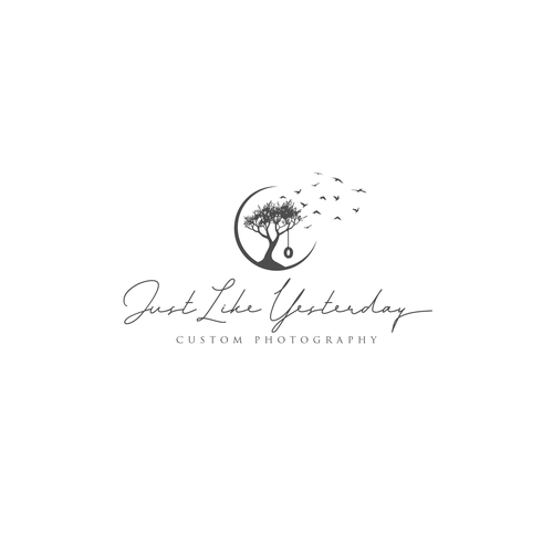 Conceptual Logo For Photography Business