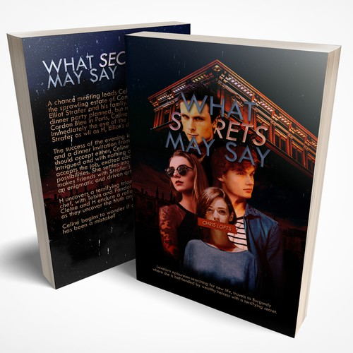 Book Cover - What Secrets May Say