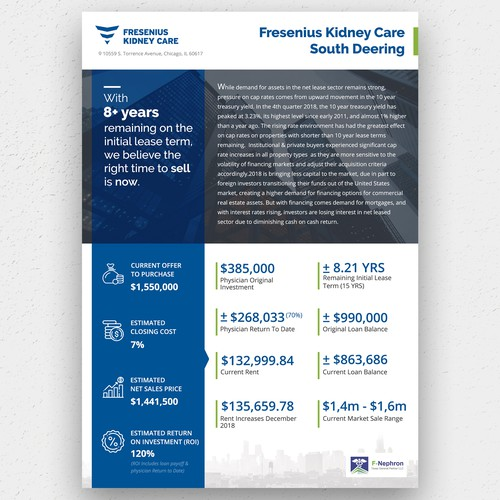 Fresenius Kidney Care South Deering Flyer