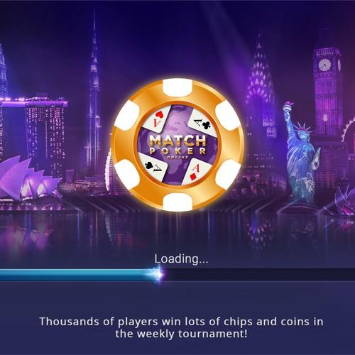 Design Concept for poker on line
