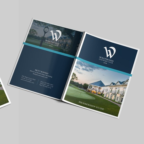 Corporate brochure for Country club