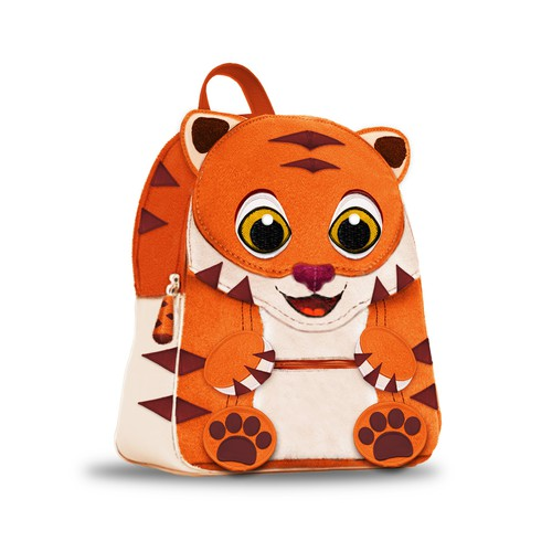 Tiger baby backpack