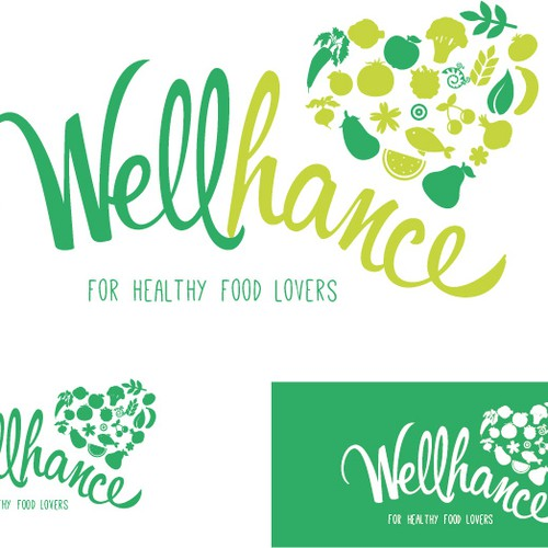 Create a unique logo design for new natural, healthy, organic-based nutrition and fitness company.