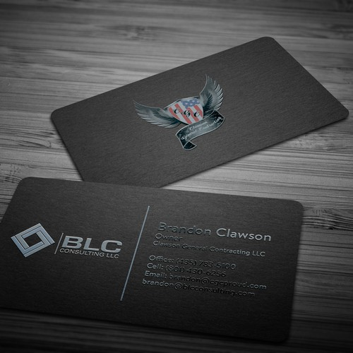 Spot UV business card!
