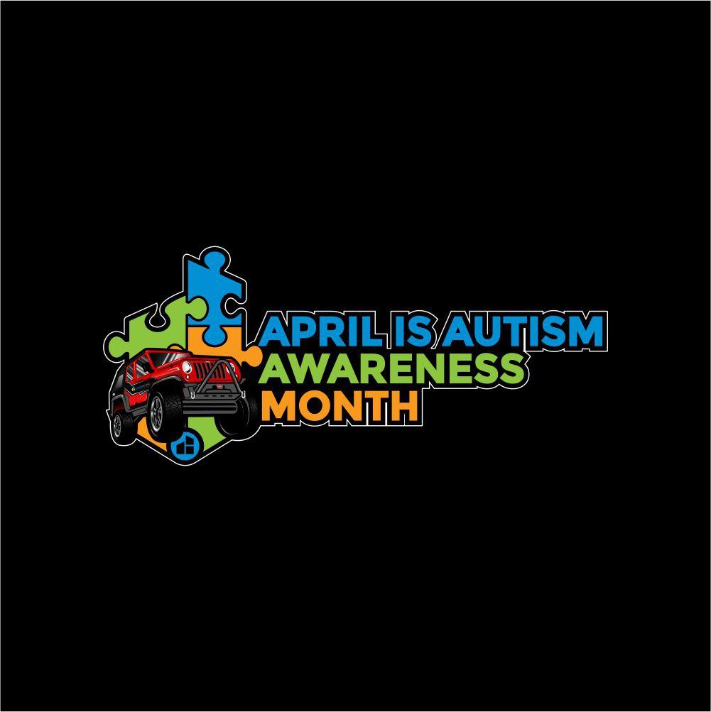Jeep Autism Awareness Stickers
