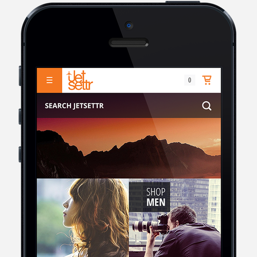 Create a kick-ass mobile website for travel company Jetsettr.com.au!