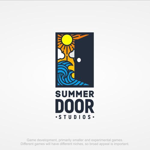 Create a logo for a mobile game company, Summer Door Studios