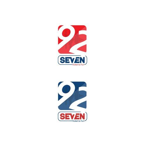 92SEVEN radio station logo