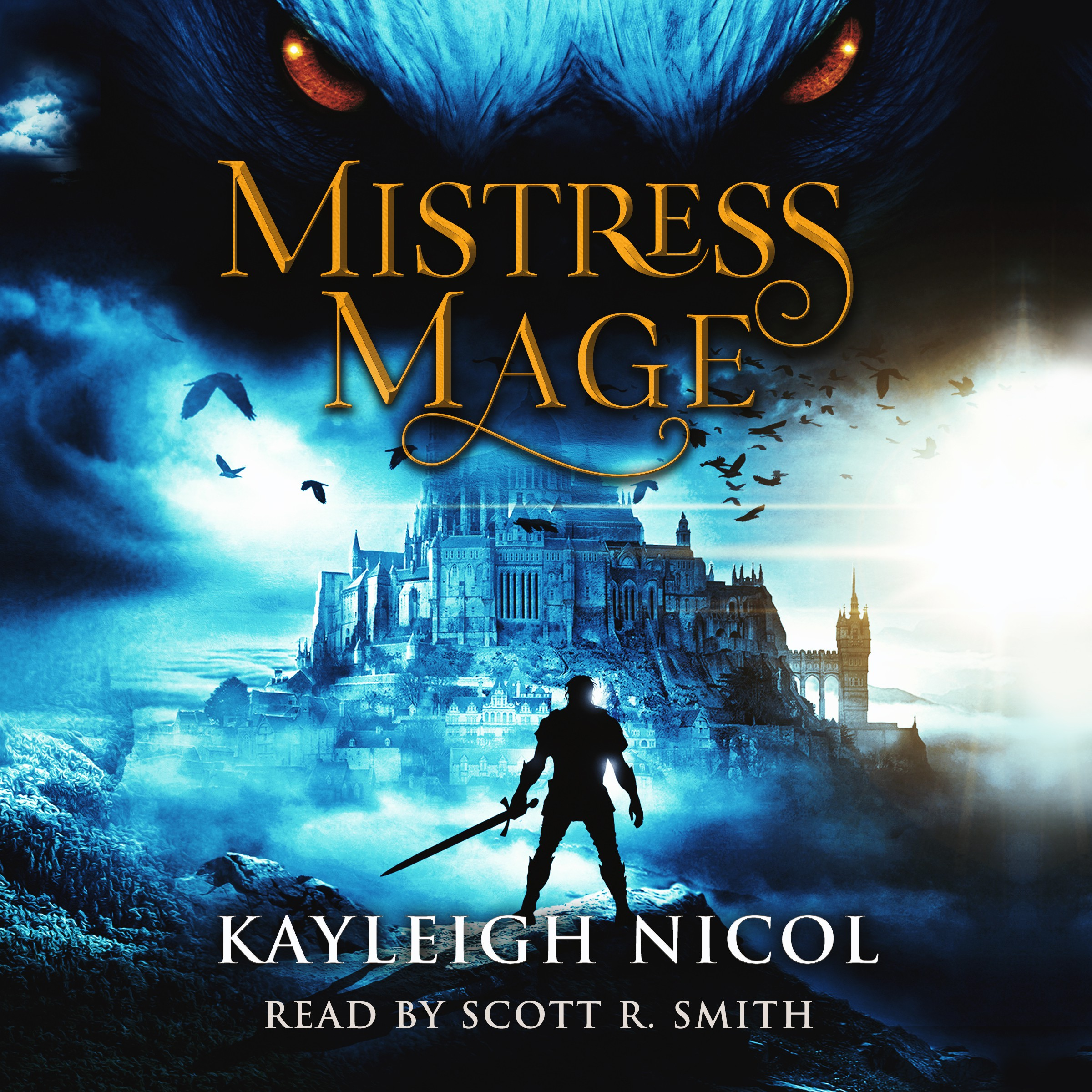 Convert E-Book Cover to Audio Book Format - Mistress Mage