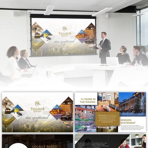 Redesign Company Presentation - Telluride Rentals