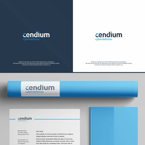 Cendium Wordmark Logo