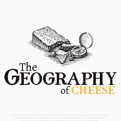 Logo for The Geography of Cheese