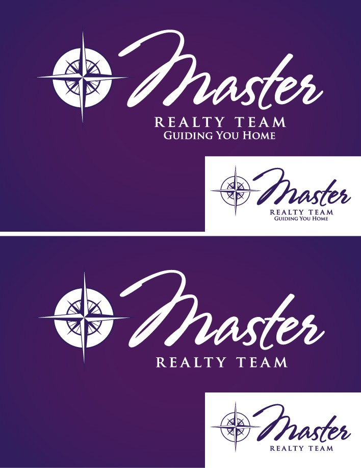 Help Master Realty Team with a new logo