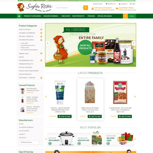 E-Commerce Design for Sofia
