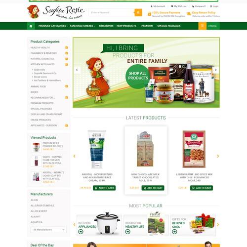 E-Commerce Design for Sofia