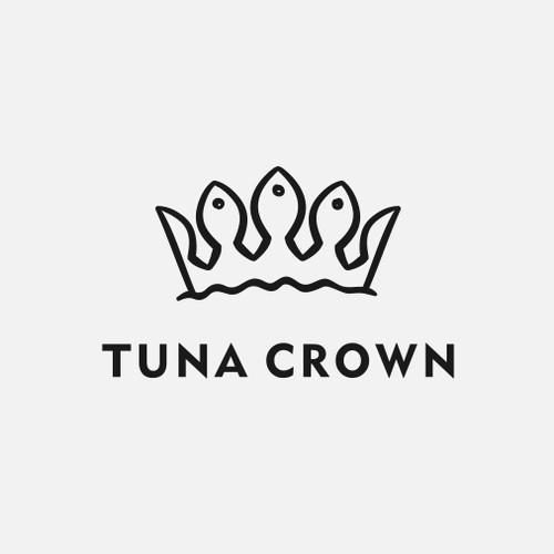 "Logo for artist ""Tuna Crown"""