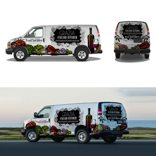 Van design Garzia Italian kitchen