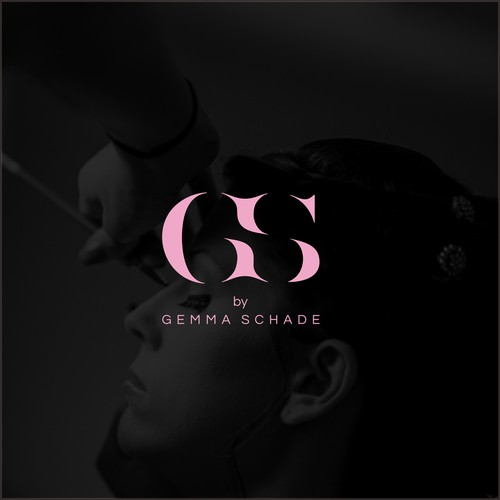 Initial logo type for Gemma Schade