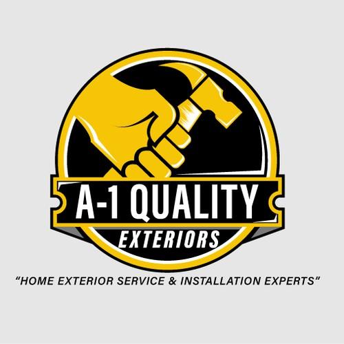 A1 Quality Exteriors Logo