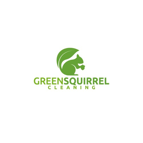 Logo for GreenSquirrel Cleaning